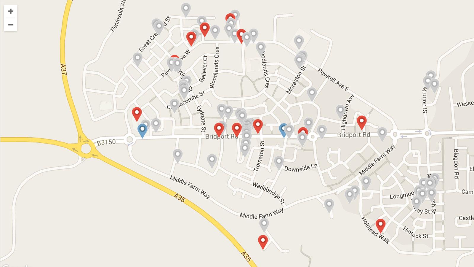 work-discover-poundbury-map